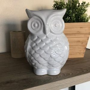 {NWT} Ceramic Owl Decor